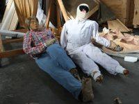 Scarecrows by Kaari Upson