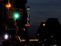 The doors of the Chelsea Hotel are being auctioned to support the homeless