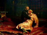 One of Russia's masterpiece paintings was attacked with a metal pole