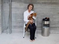 Charlotte Rampling, a Fox, and a Plate