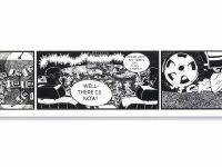 """Kerry James Marshall created comic strip with black characters to show """"it can be done"""""""