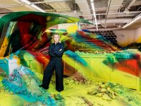 Katharina Grosse takes us inside her first solo show in China