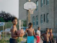 Adam Jason Cohen's intimate street portraits of Chicago's basketball youth