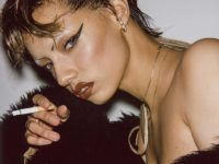 Louie Banks photographs Jazzelle as a highway motel fever dream
