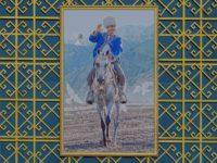 Who is Turkmenistan's dictator and why is he always holding puppies?