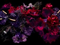 Lewis Miller's lush floral arrangements are a tribute to the ephemeral beauty of nature