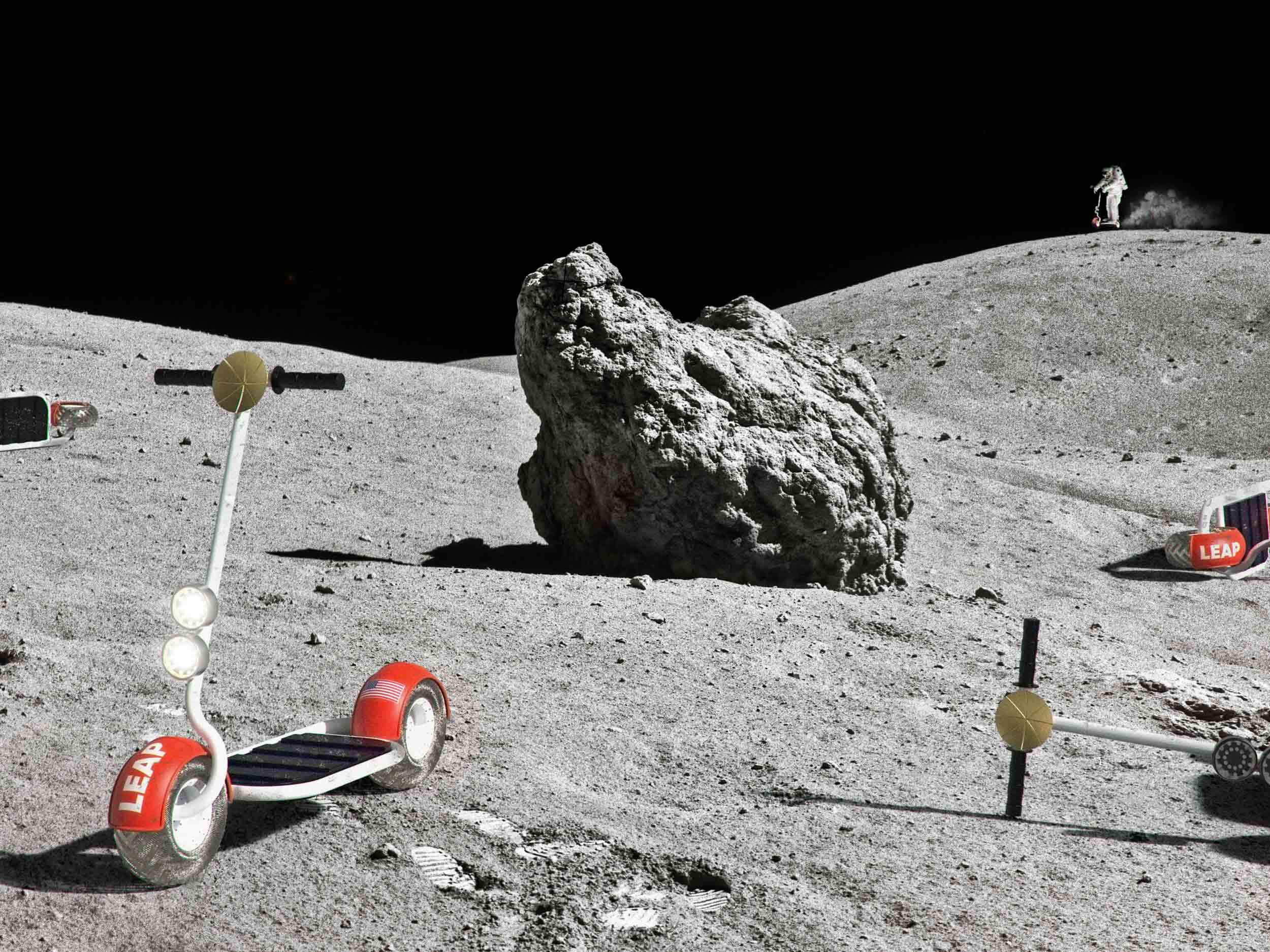 frog design's Moon scooters are one giant 'LEAP' for transportation