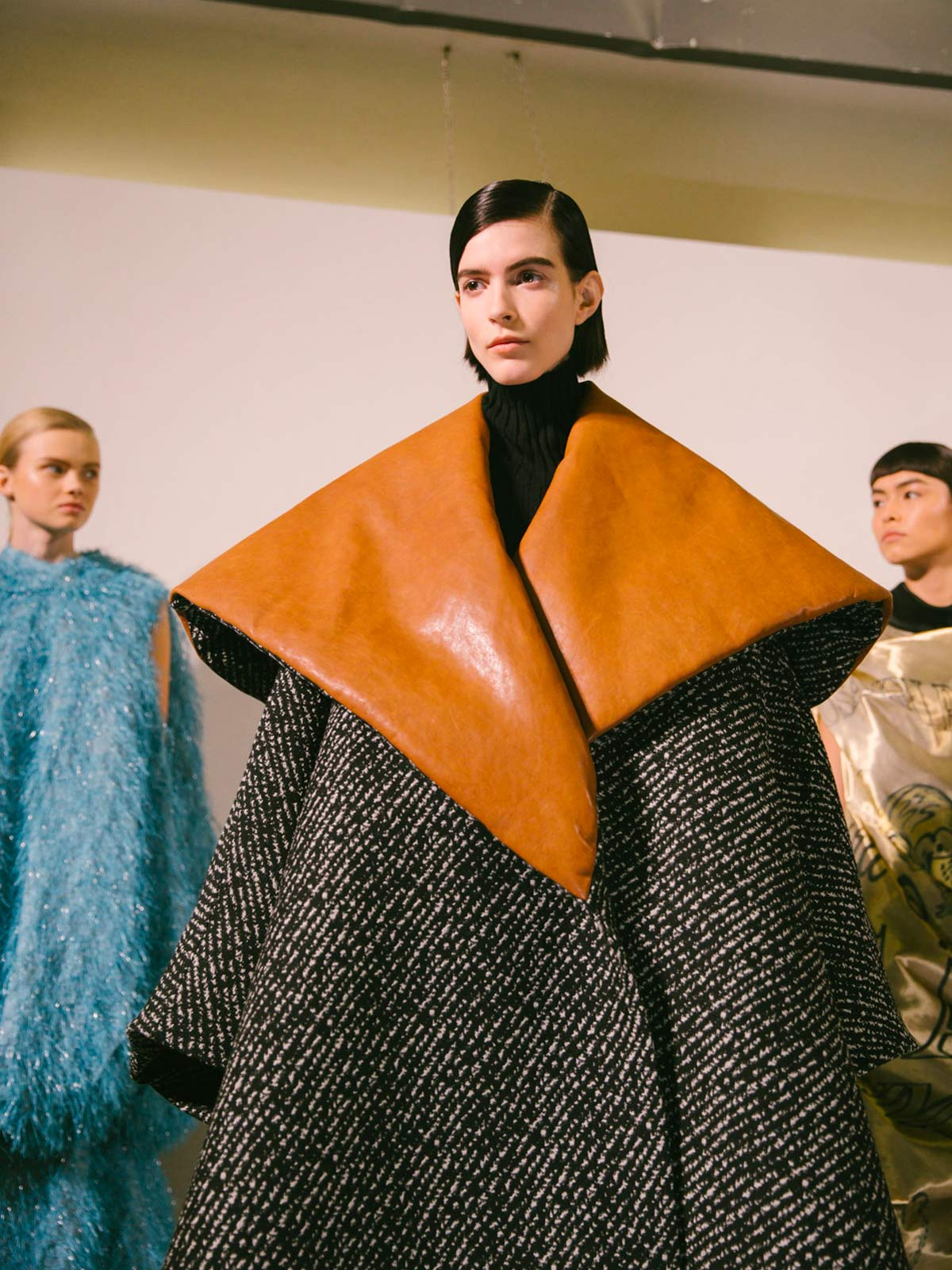 J.W. Anderson's enormous coats are the last word on power dressing