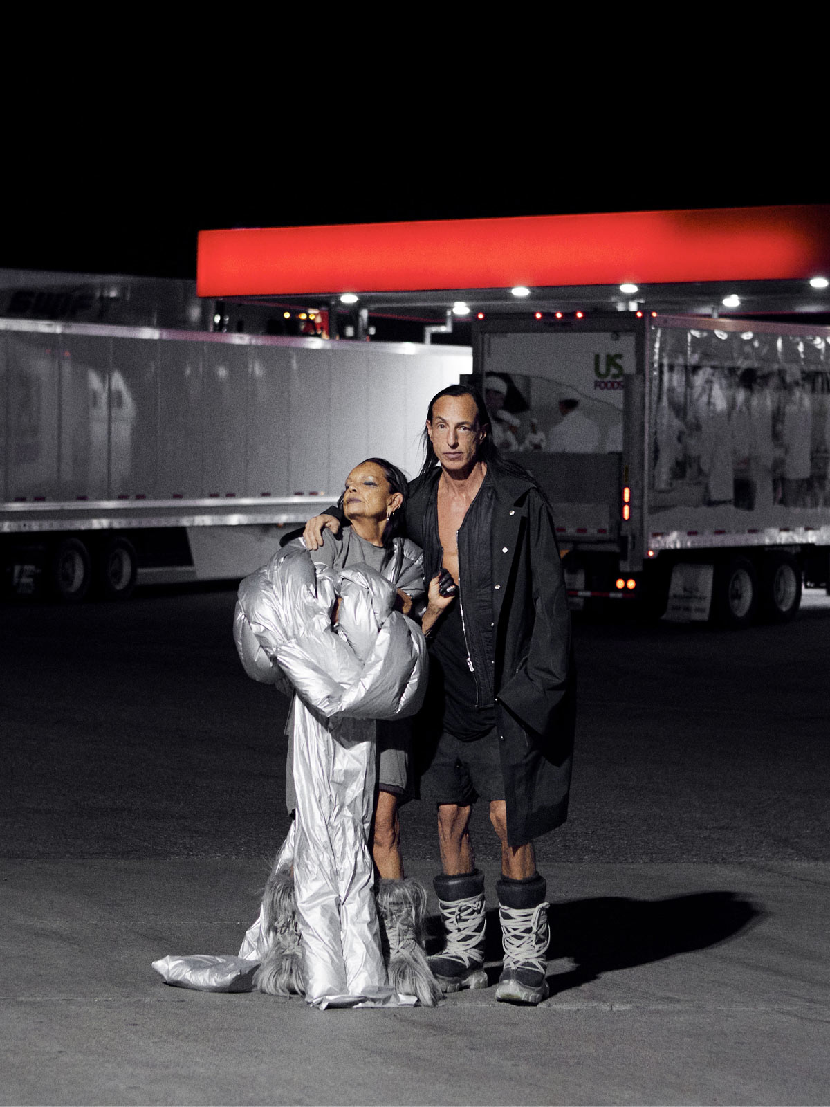 Rick Owens collaborated with Moncler on… a tour bus