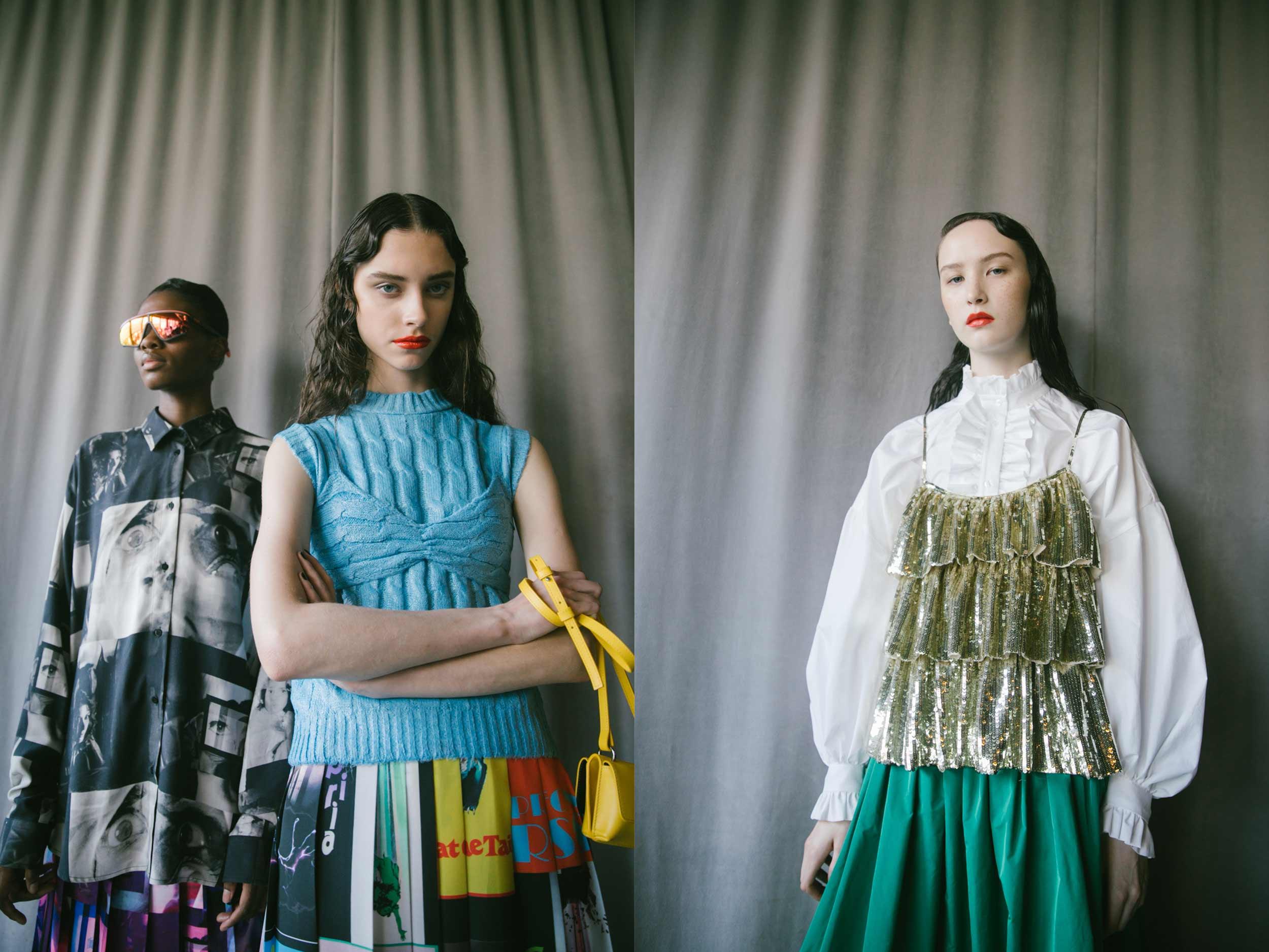 'Suspiria' chic lives on: MSGM's witchy schoolgirls take Milan