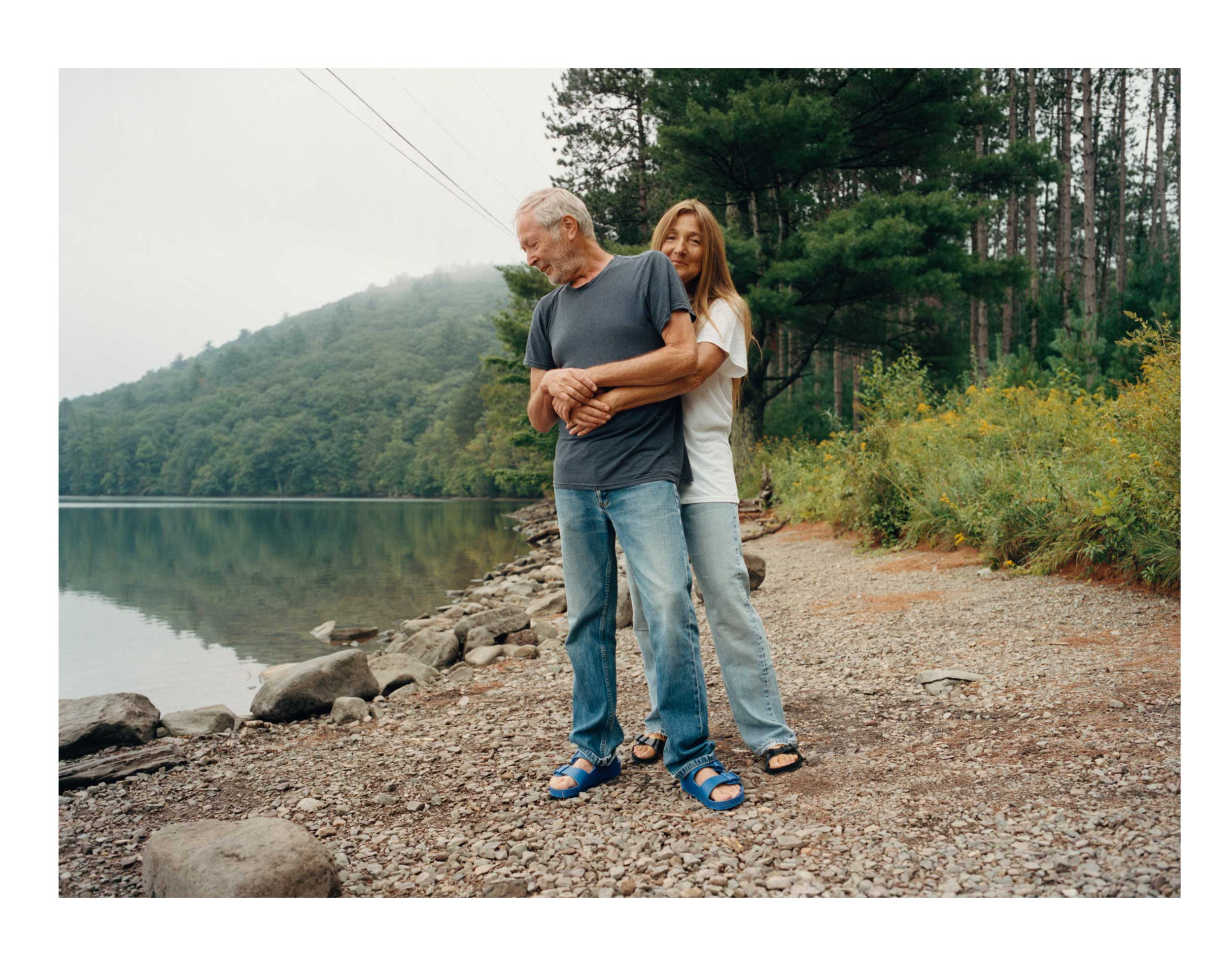 Terry and Tricia Jones, the iconoclastic duo behind 'i-D' magazine, find salvation in Upstate New York
