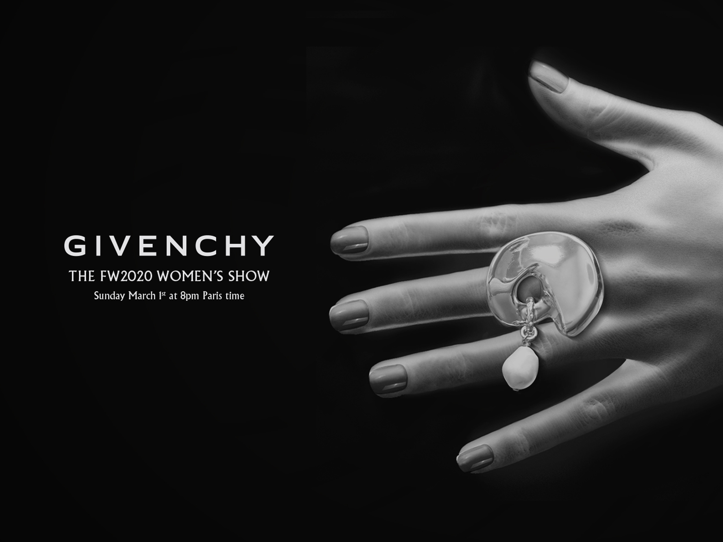 Watch Live: Givenchy Fall/Winter 2020 from Paris