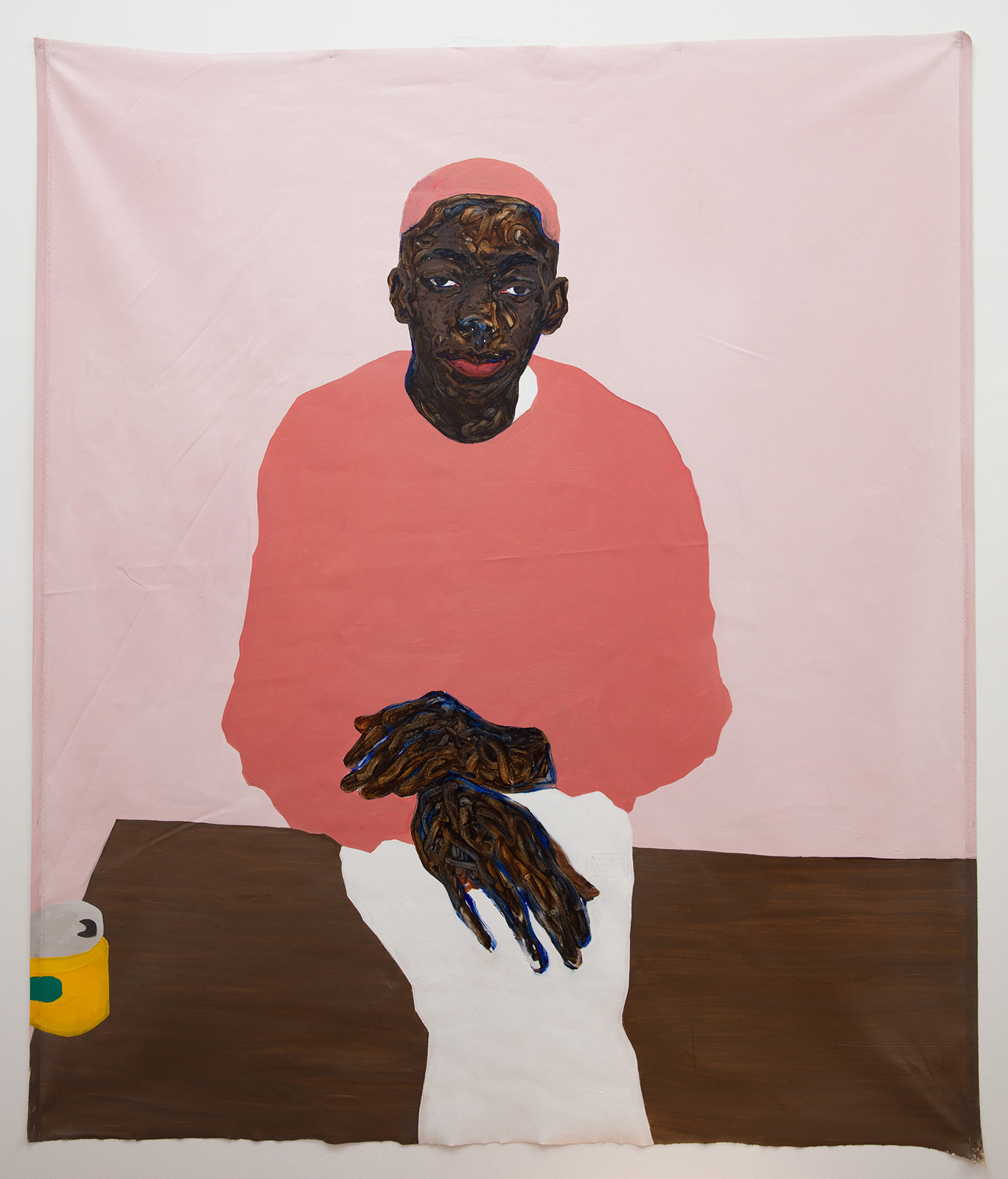 """""""When I look at you, do you see me?"""" Painter Amoako Boafo urges us to consider the complexities of blackness"""