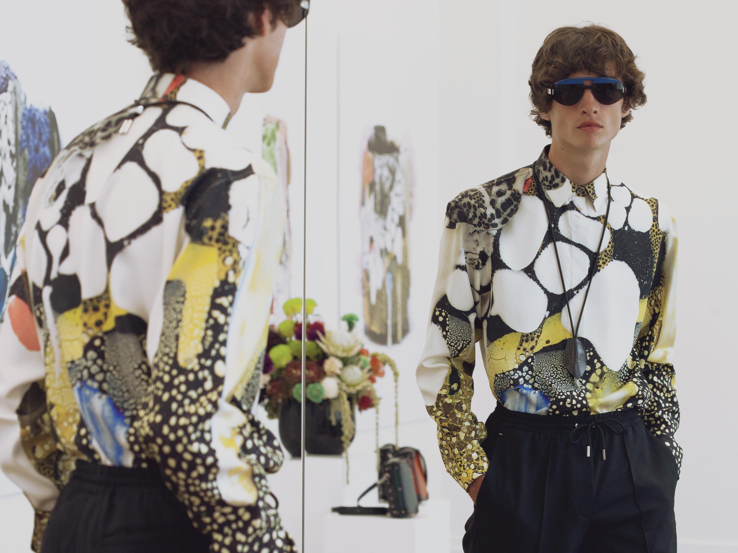 Kris Van Assche's new Berluti collection sounds like The Prodigy, smells like lava