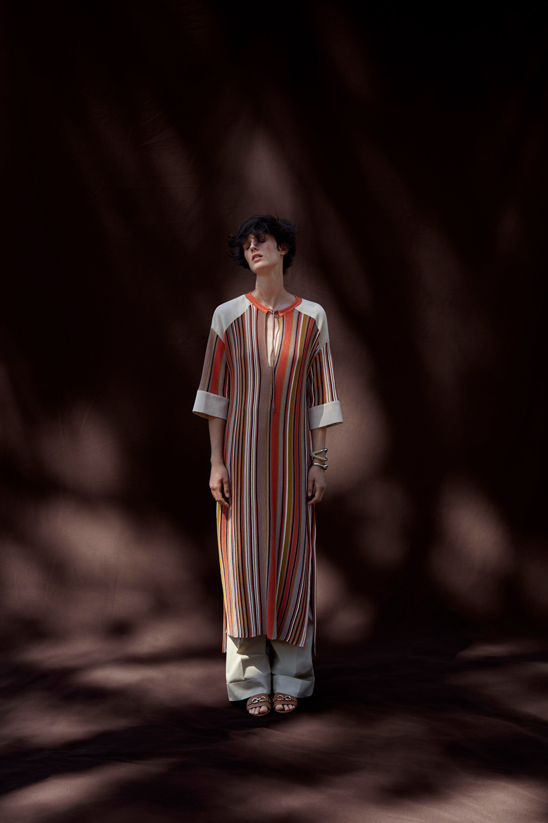 Ferragamo's Pre-Spring collection is a meditation on the importance of creativity