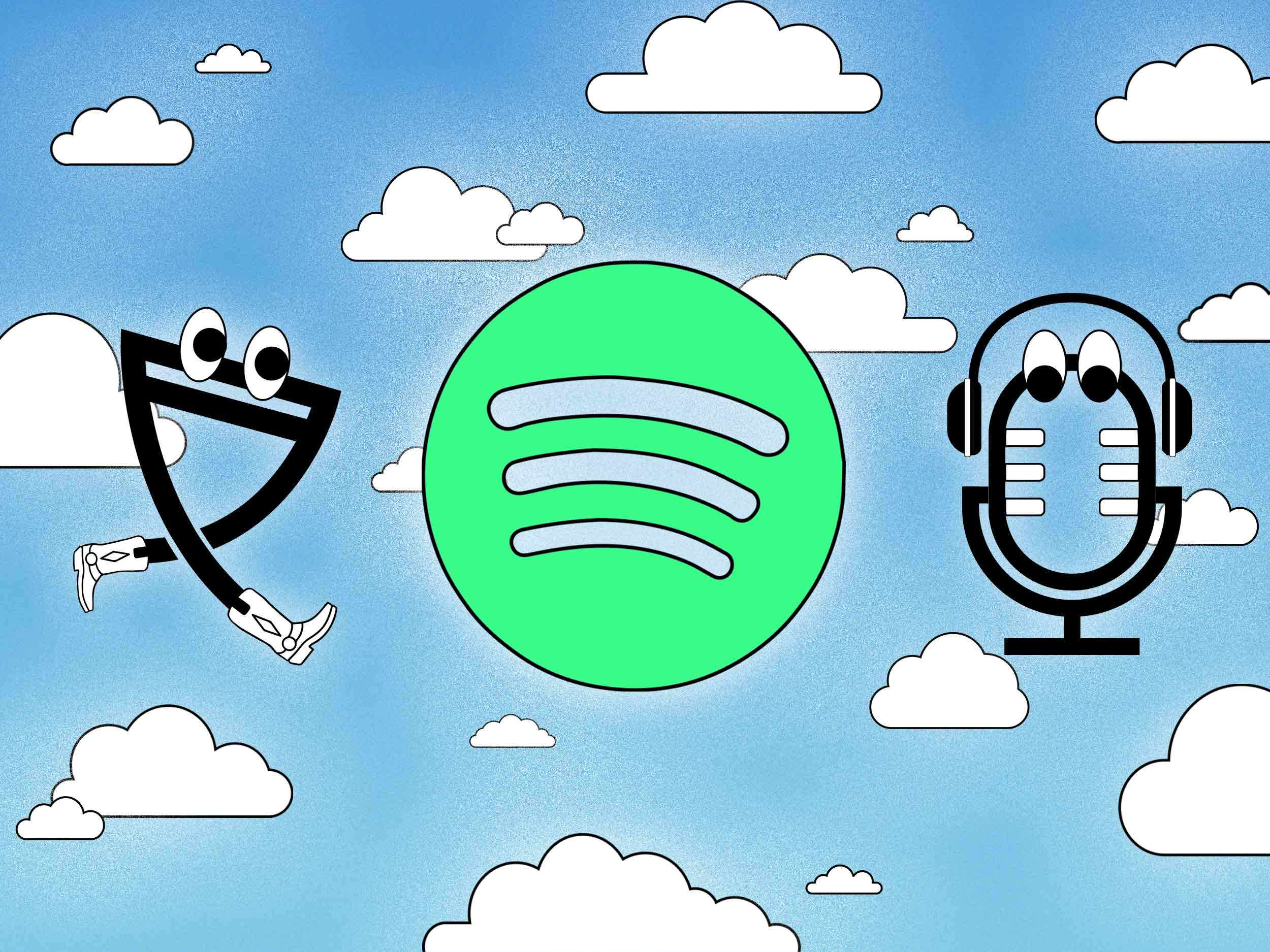 Can't find your favorite song on Spotify? Check the podcast section