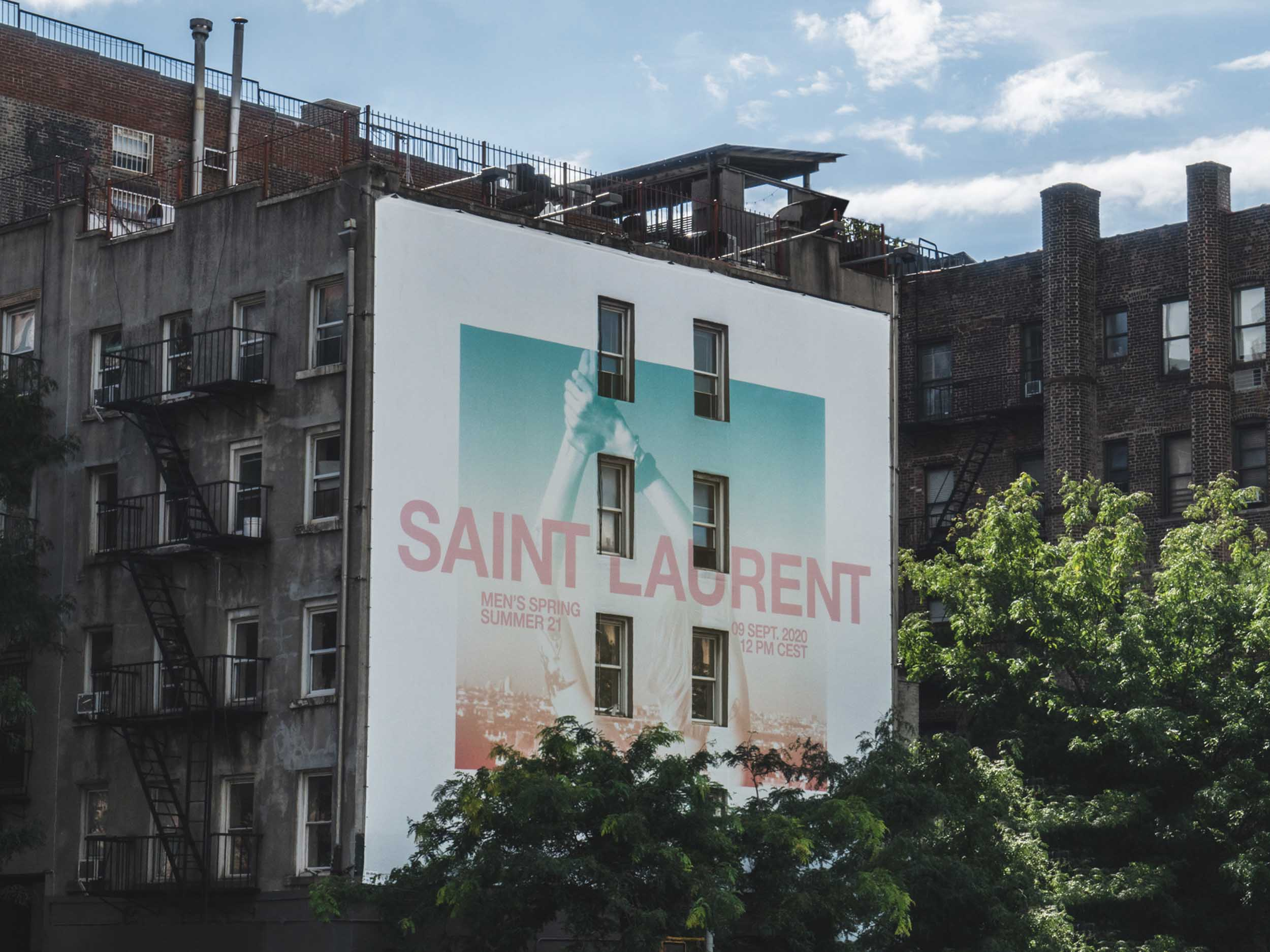 Saint Laurent promises to take us to church