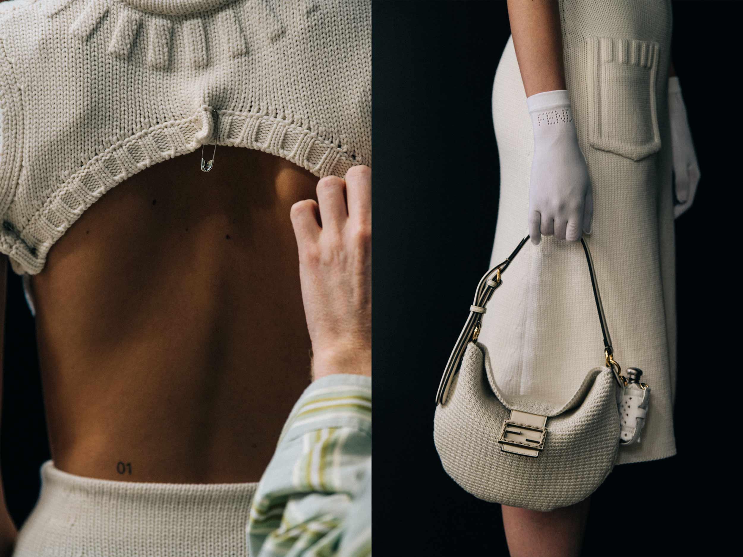Fendi's romantic return to simple, timeless elegance