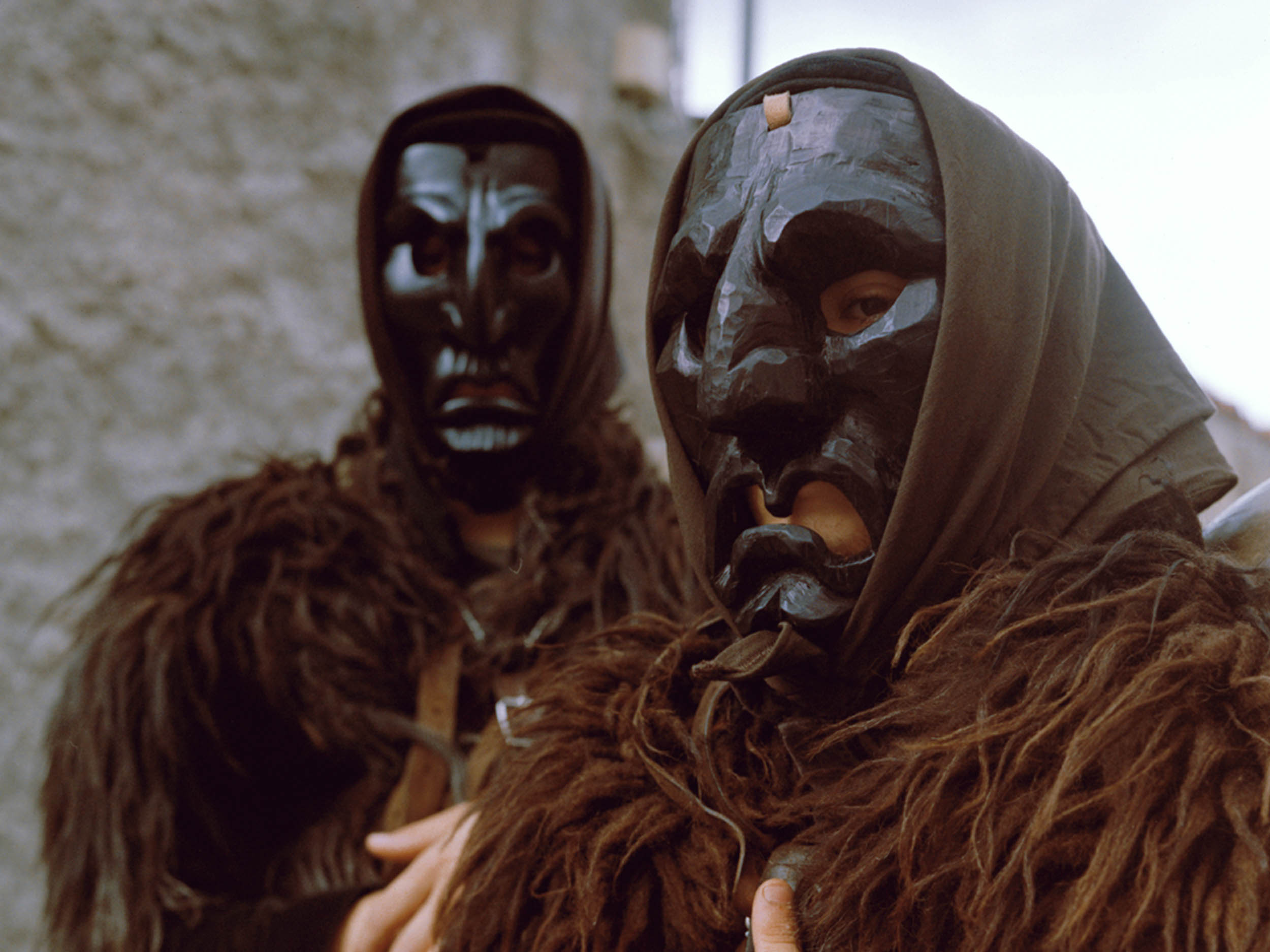 Behind the terrifying masks of the Mamuthones, a message of solidarity and renewal