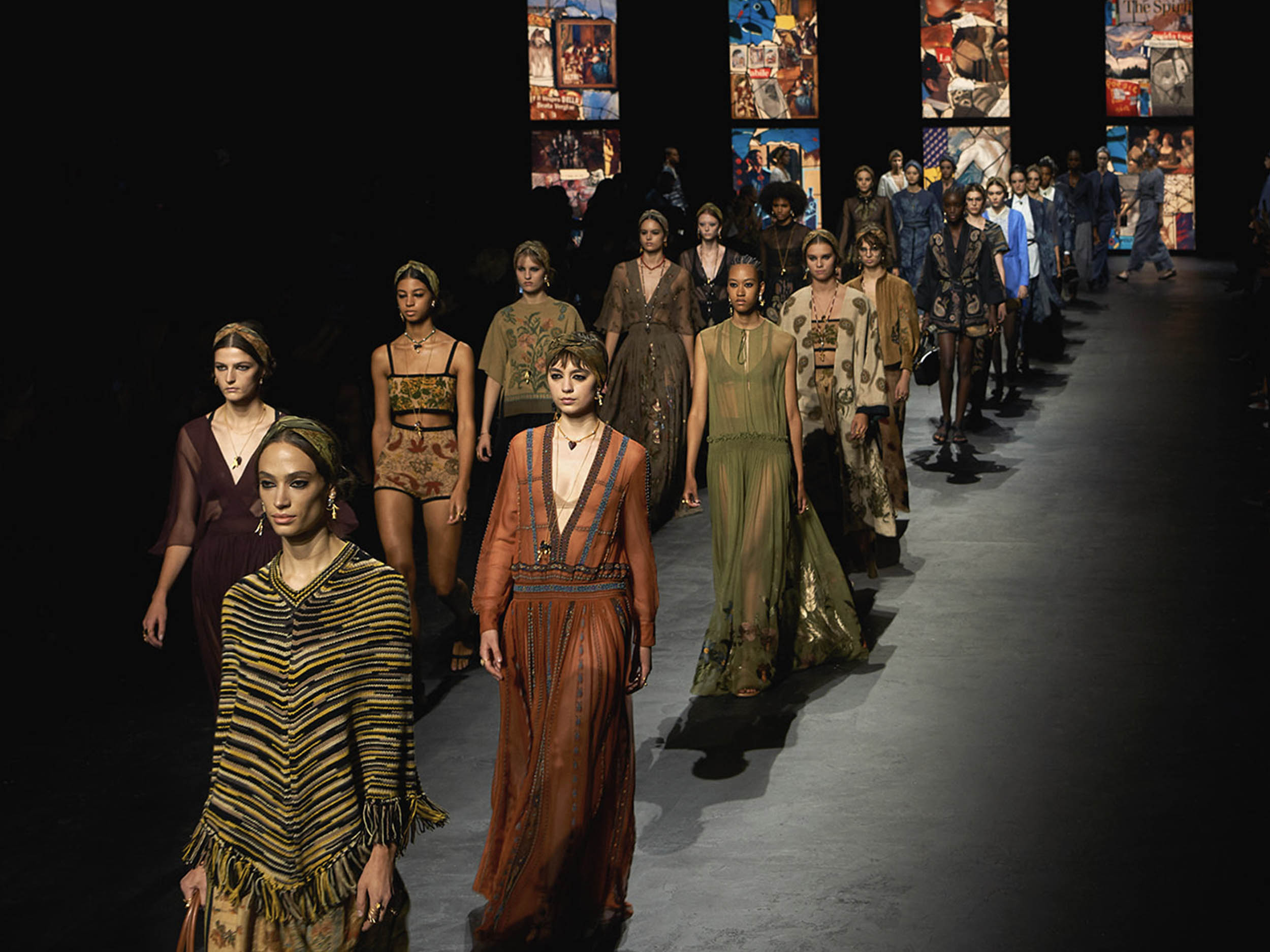 Dior has us worshipping at the altar of earth tones