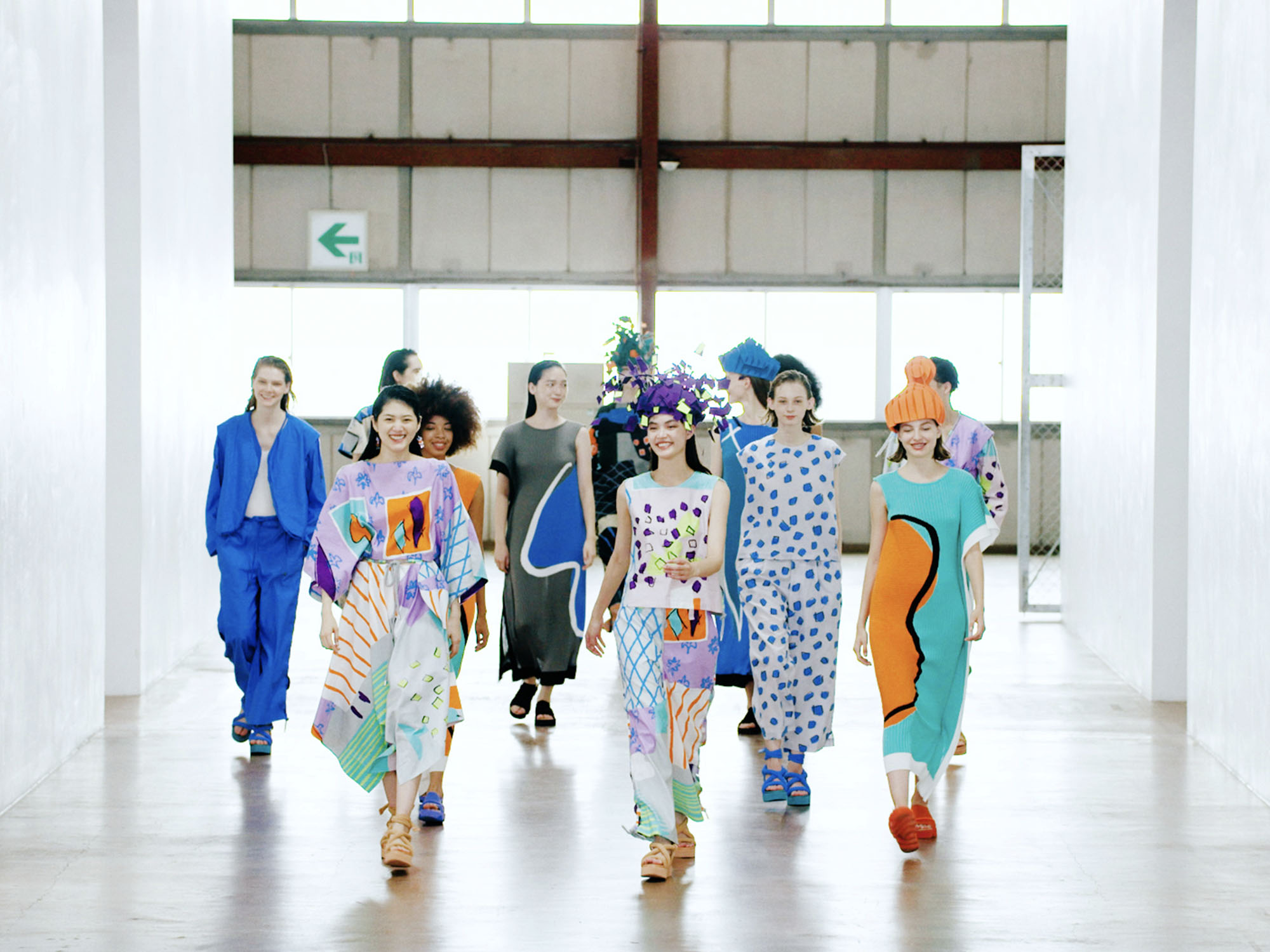Issey Miyake transforms clothes into stop-motion choreography