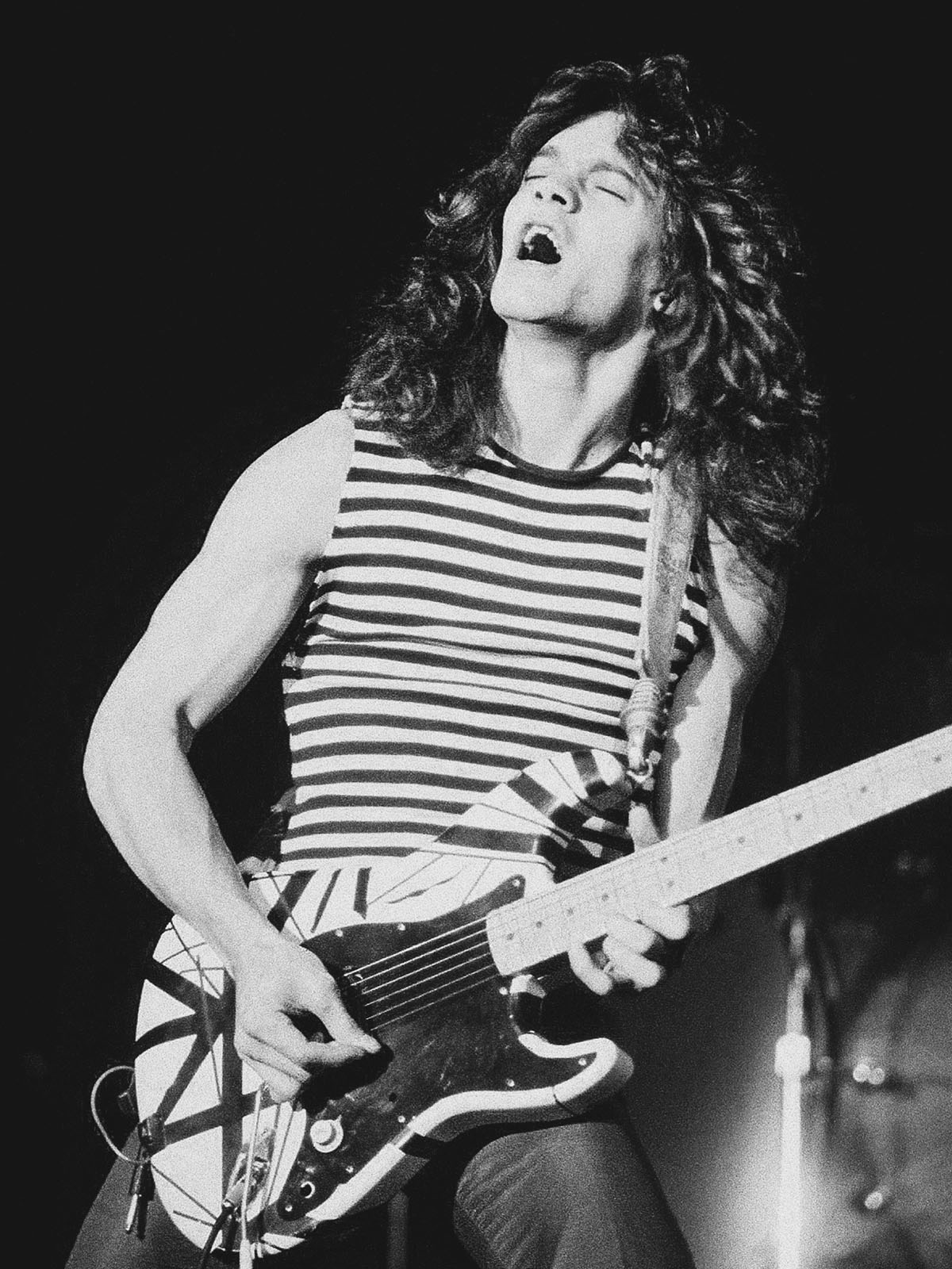 Eddie Van Halen, the guitar god who boosted hard rock into a neon future