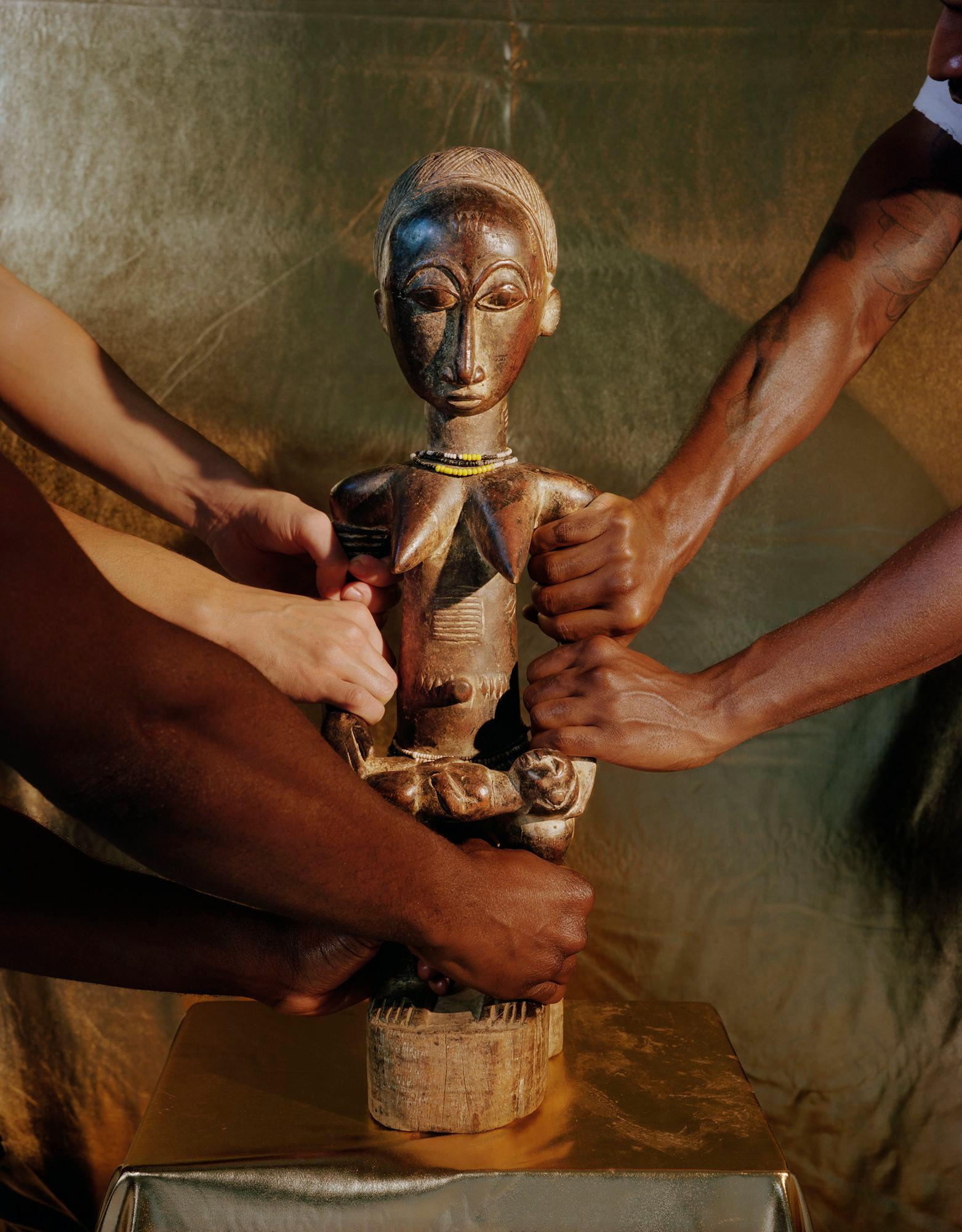 The photographs of John Edmonds examine realness and ritual in the Black diaspora