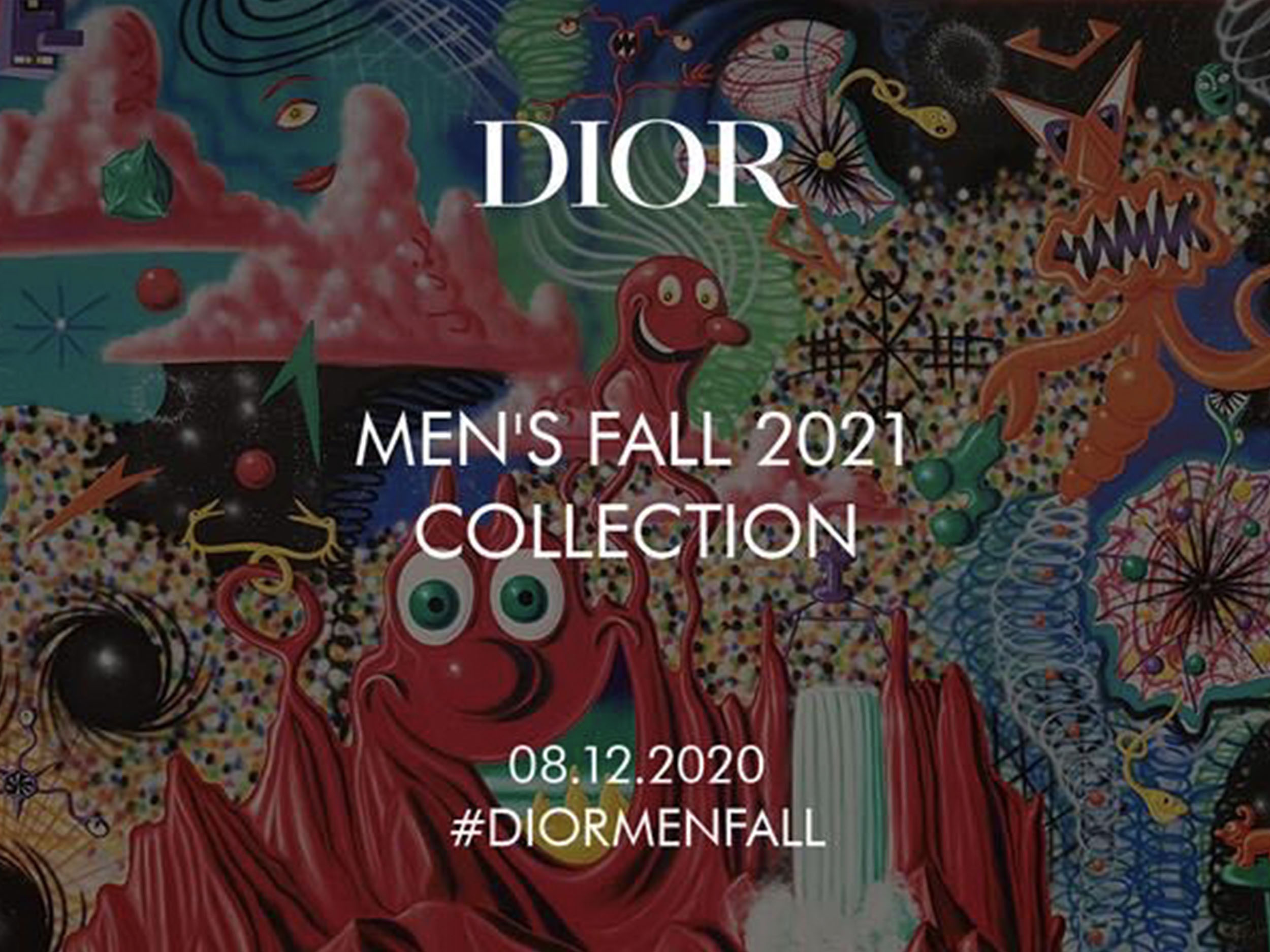 Livestream Dior's Fall/Winter 2021 men's collection here