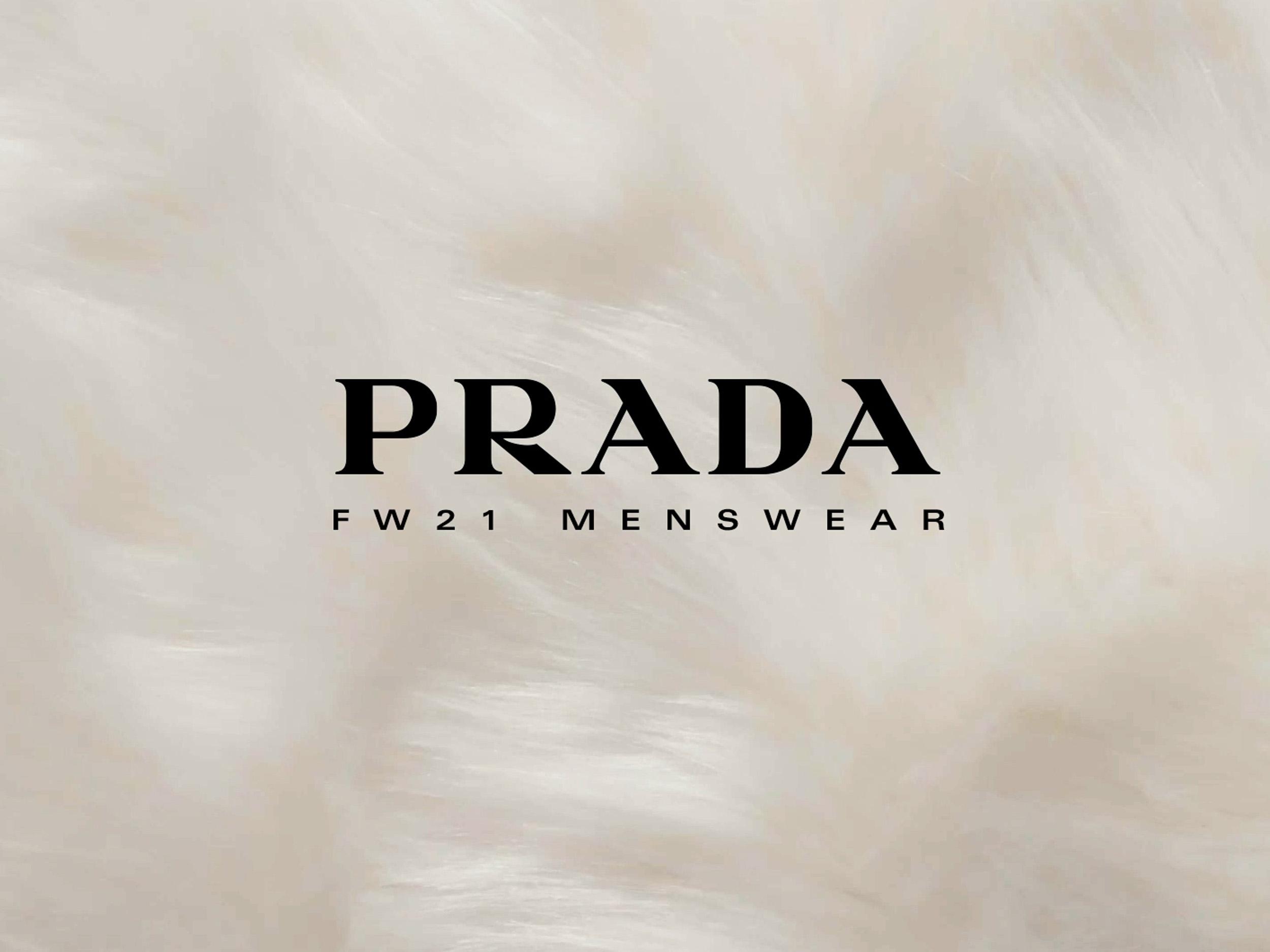 Livestream Prada Menswear Fall/Winter 2021 collection here