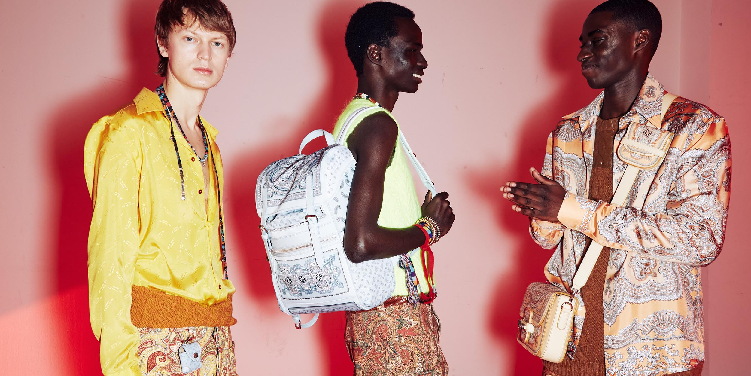 Etro reimagines its classic staples in a bold case for maximalism