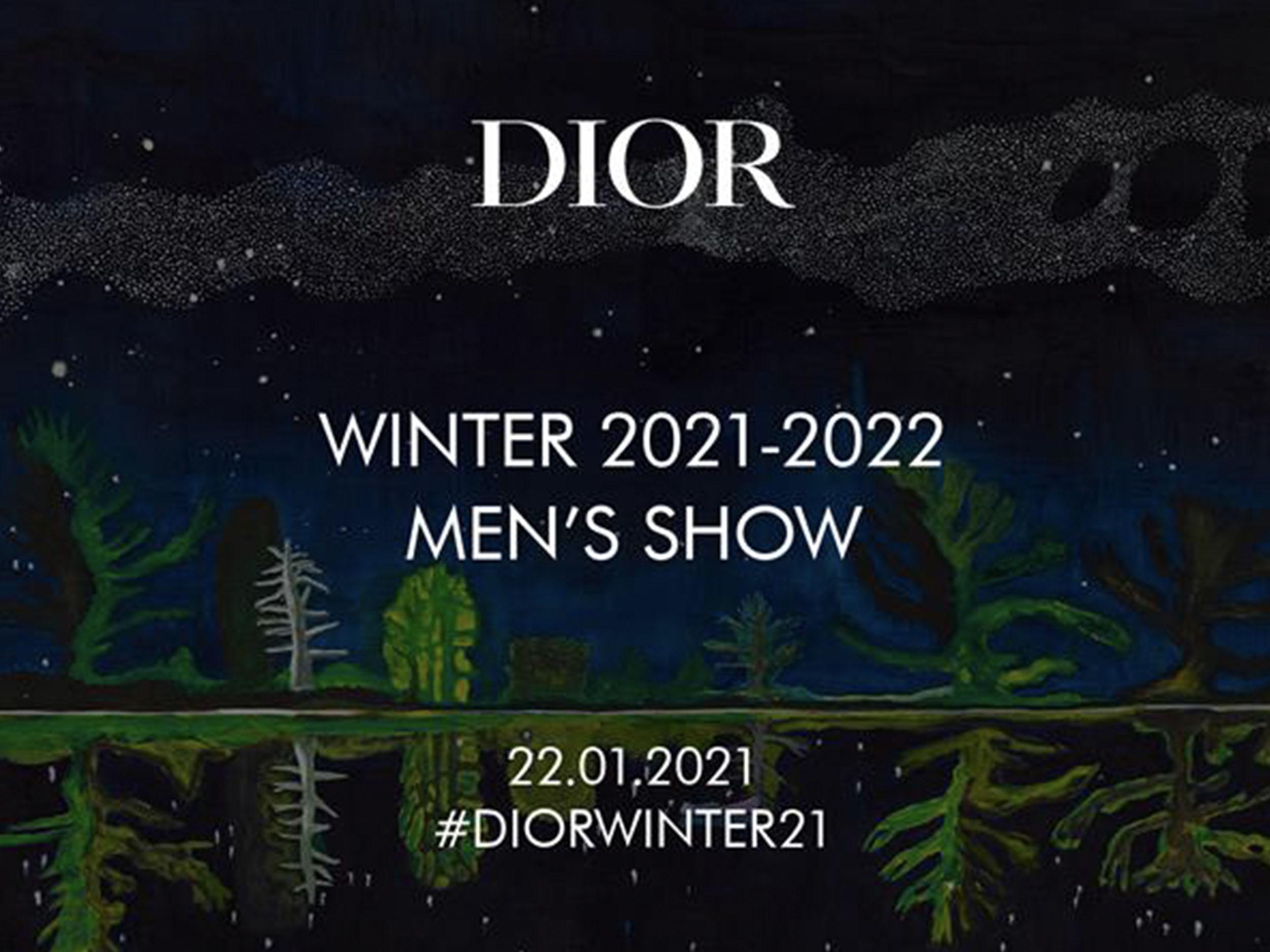 Livestream Dior's Menswear Fall/Winter 2021 collection here