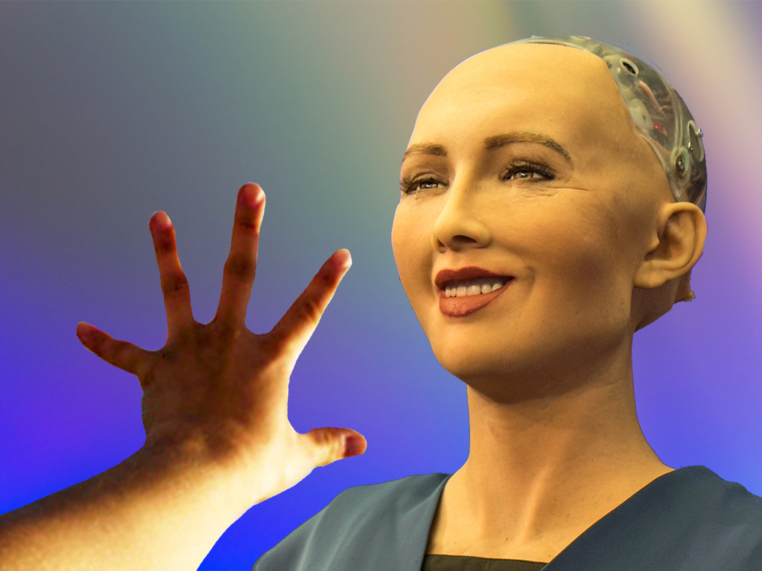 Sophia the Robot is being mass produced for a world plagued with loneliness