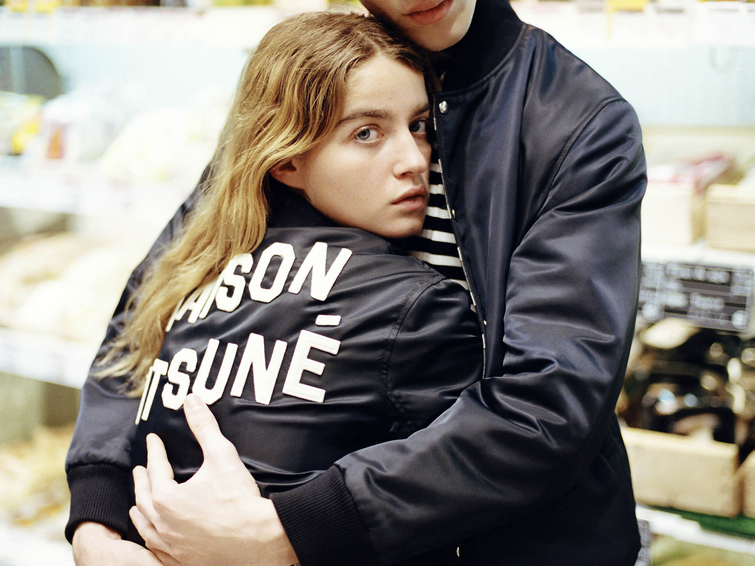 Lost in the supermarket: Maison Kitsuné finds love in the aisles