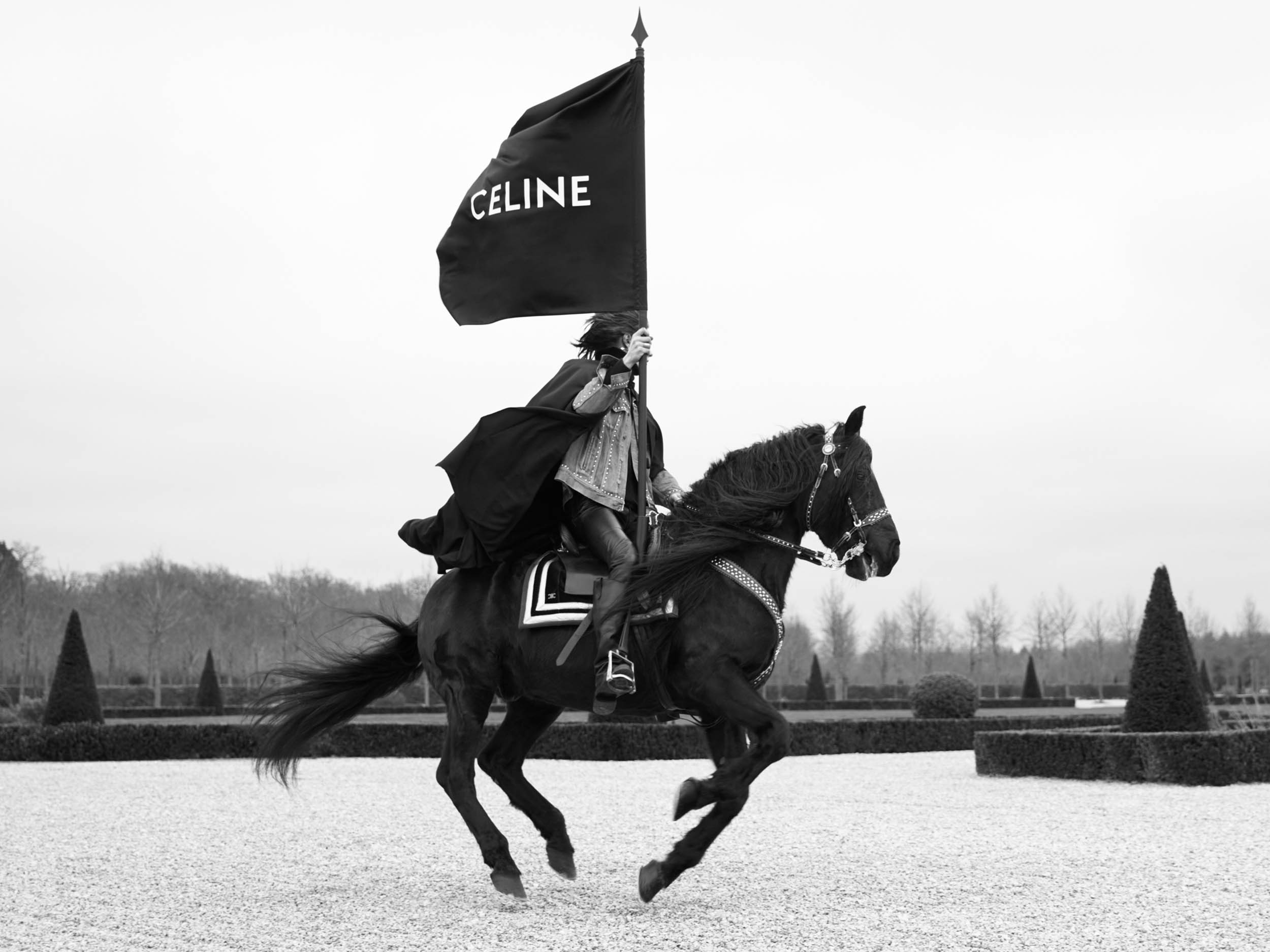 Celine Homme calls in the cavalry