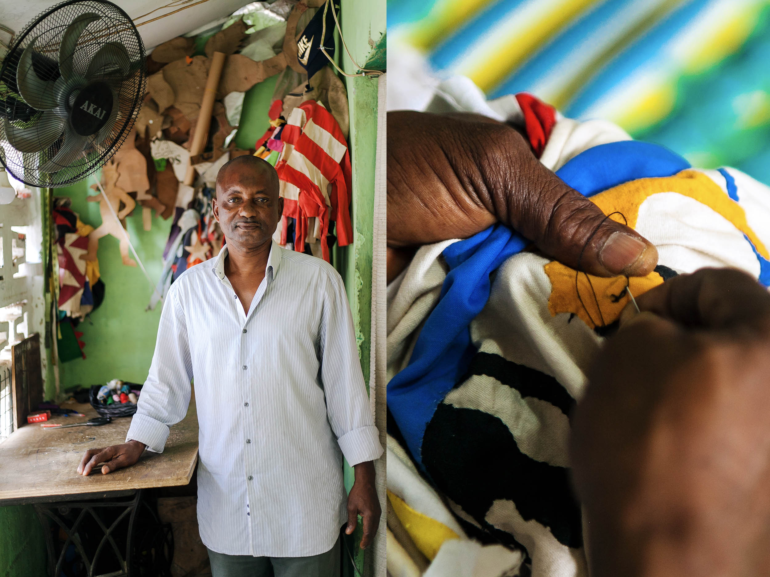 Meet the master flag-maker preserving the Ghanaian Fante culture's rich past