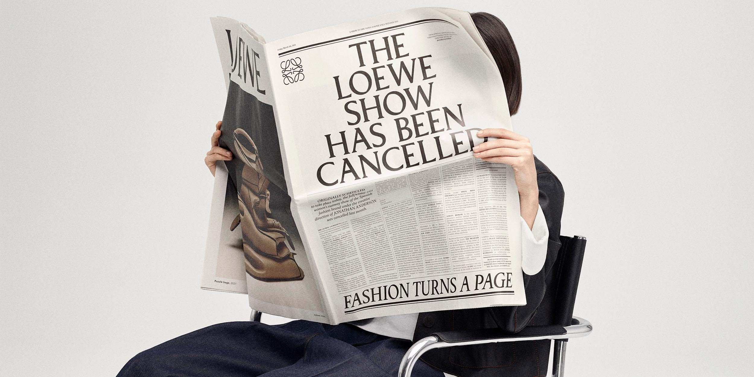 Loewe's Fall/Winter 2021 collection is hot off the press