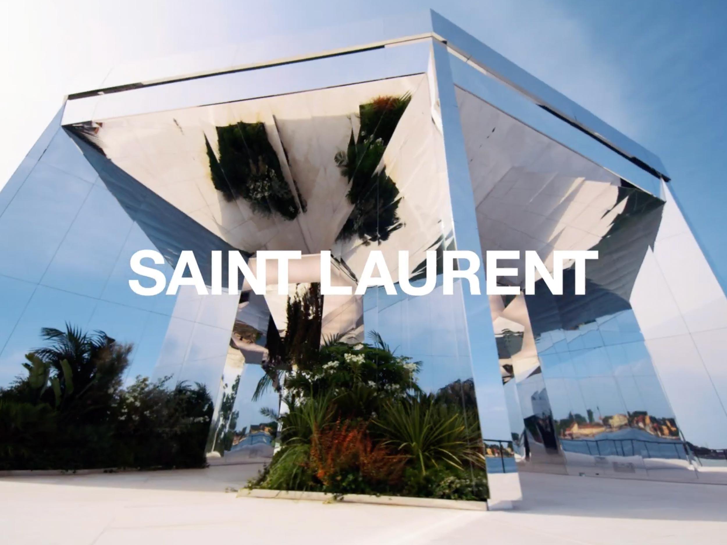 Livestream the Saint Laurent Men's Spring/Summer 2022 show here