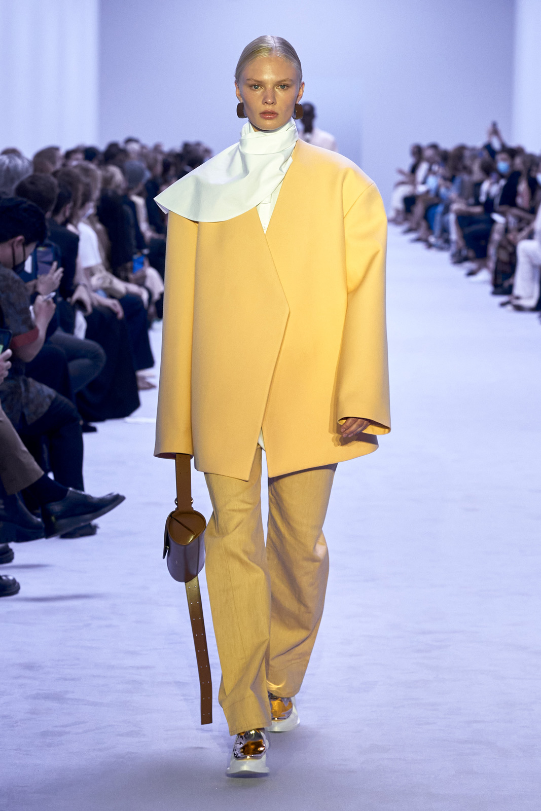 Jil Sander discovers a mix of power, tension, and subtlety