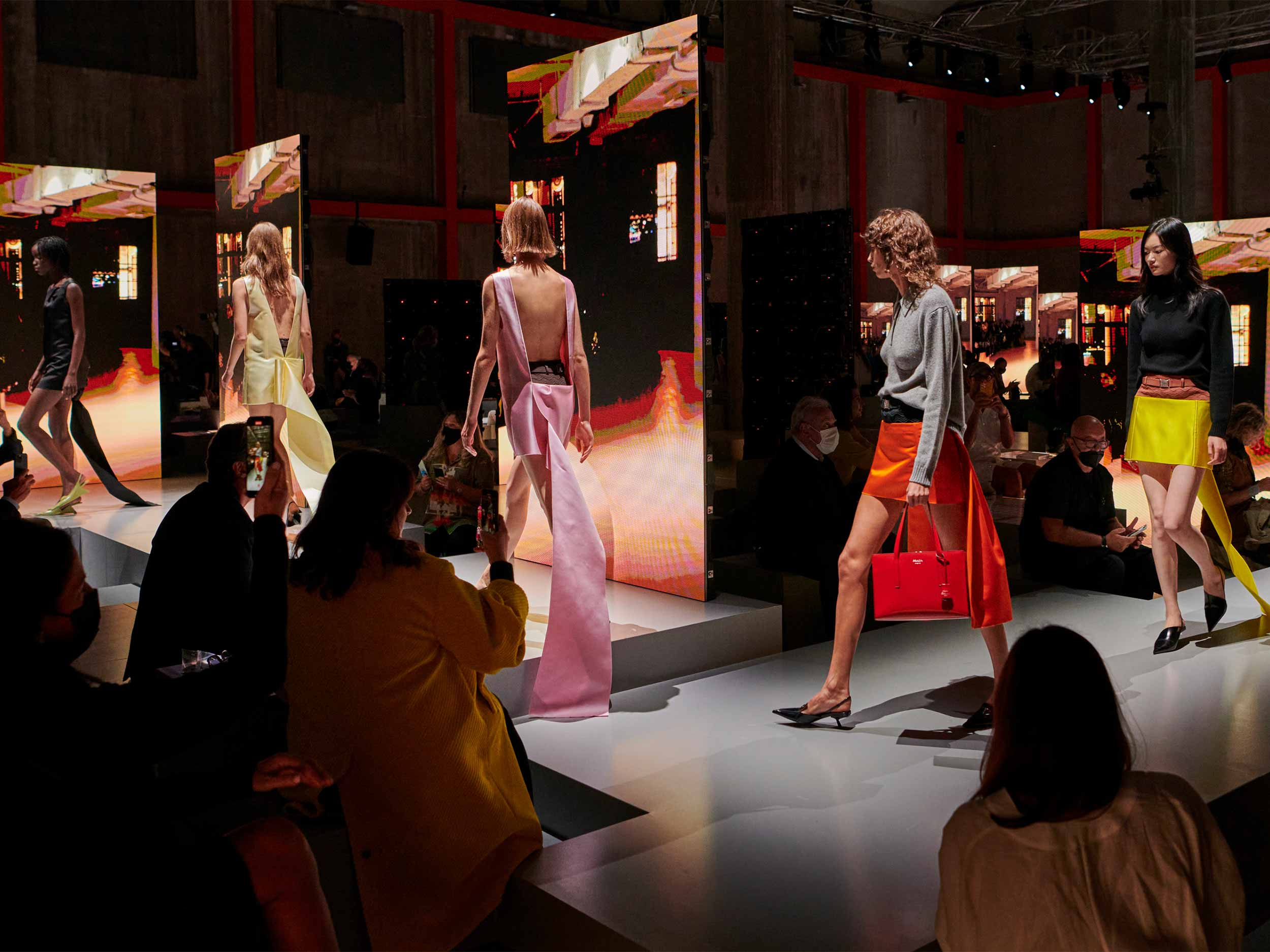 Prada shows us seduction stripped down for Spring/Summer 2022