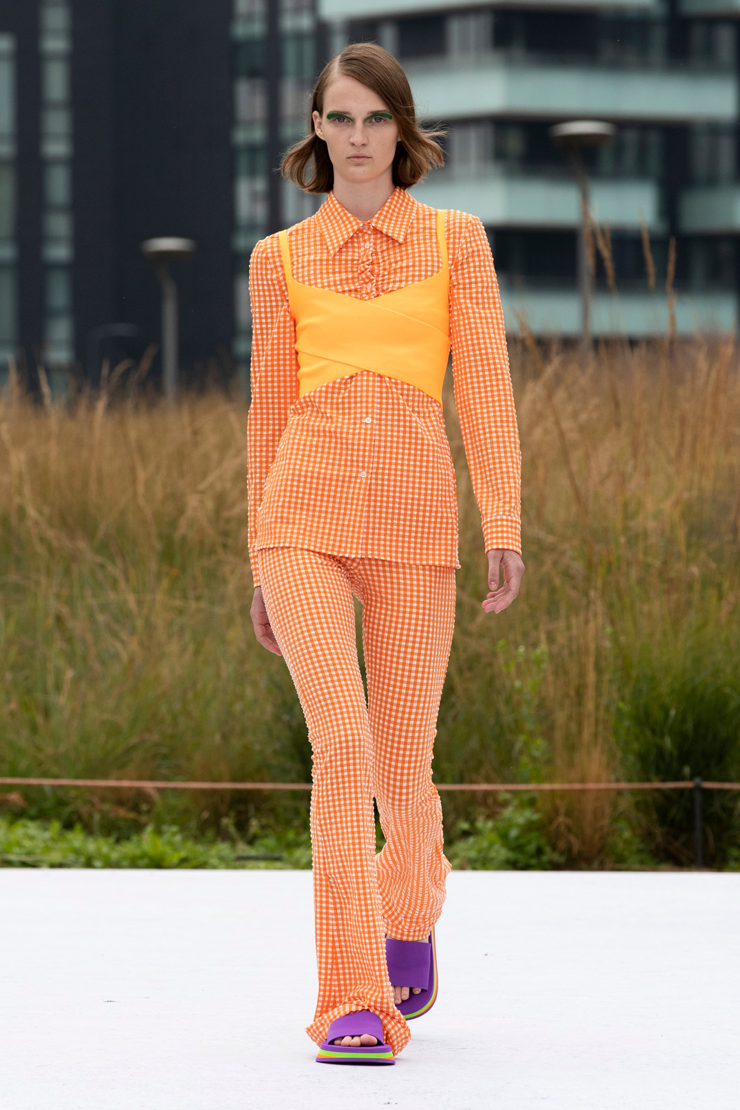 MSGM's Spring/Summer 2022 collection evokes the flirty vibrance of summer