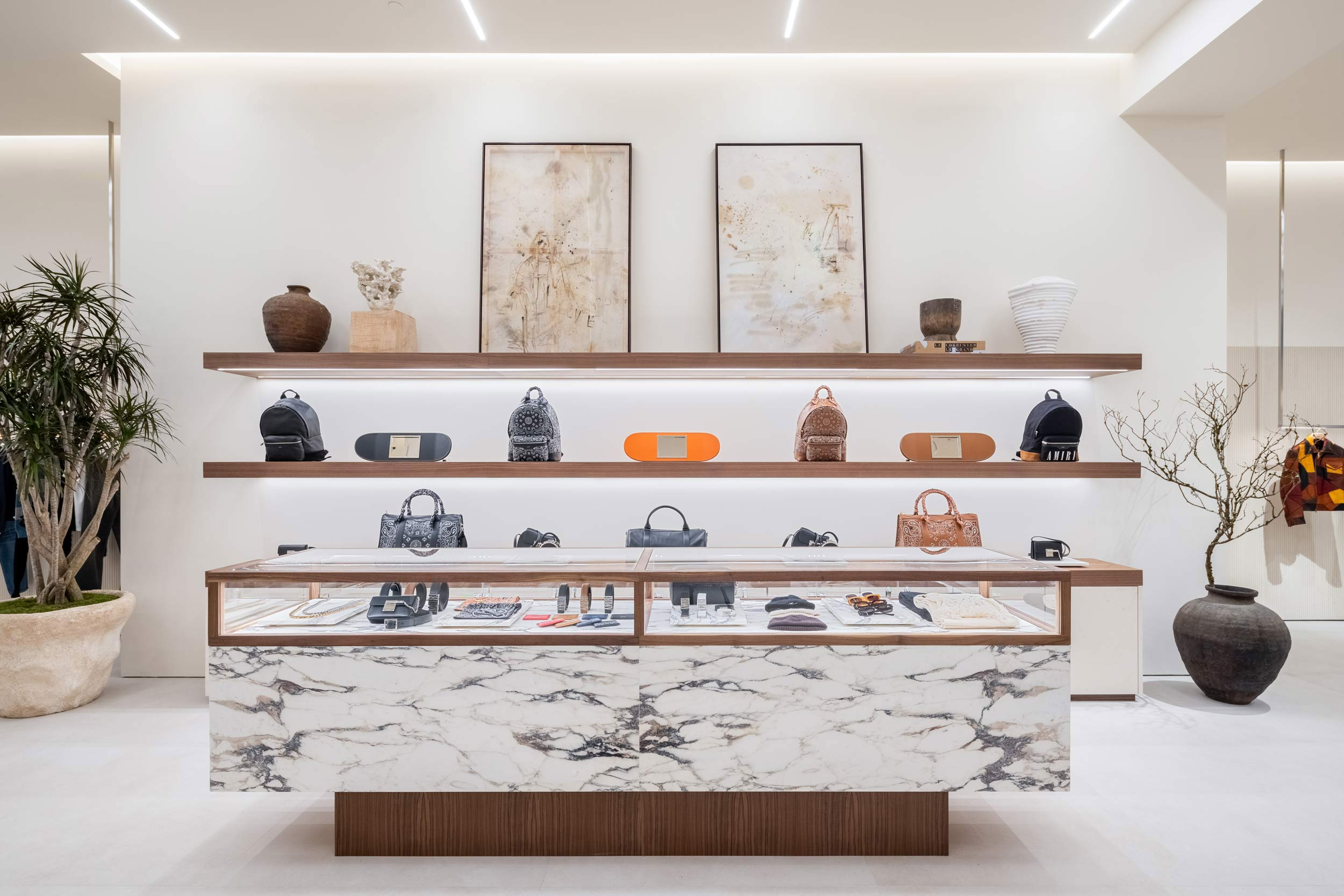 AMIRI's first NYC store re-cements SoHo's artistic identity