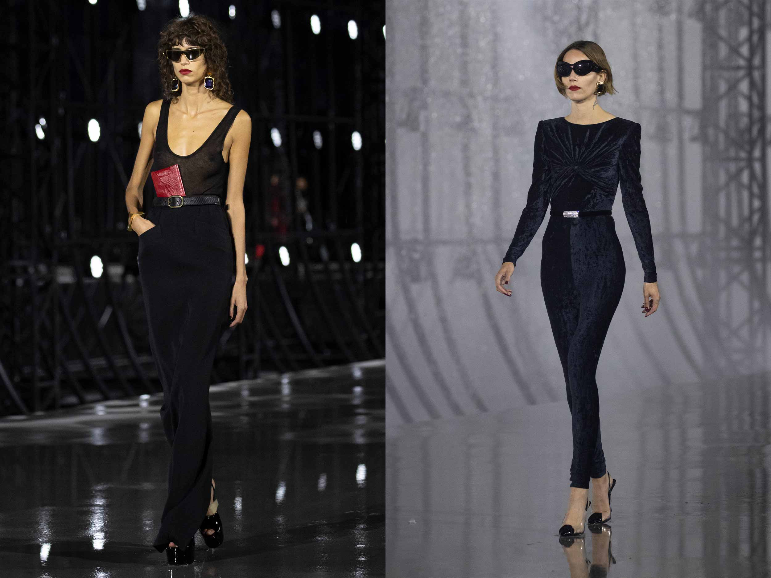 Saint Laurent centers the sensuality of power