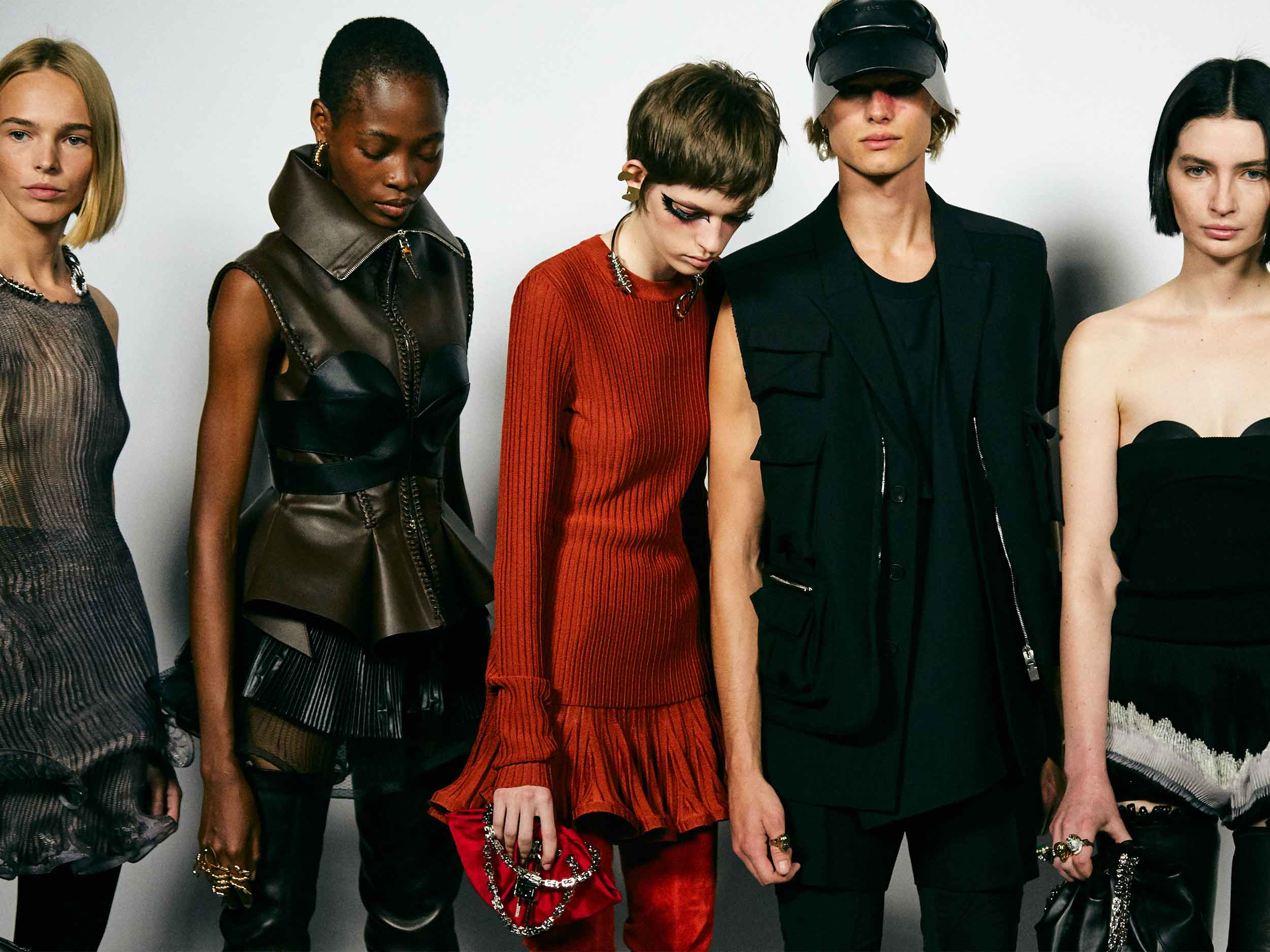 Givenchy embraces the gestural, adapting timeless tailoring to a new age