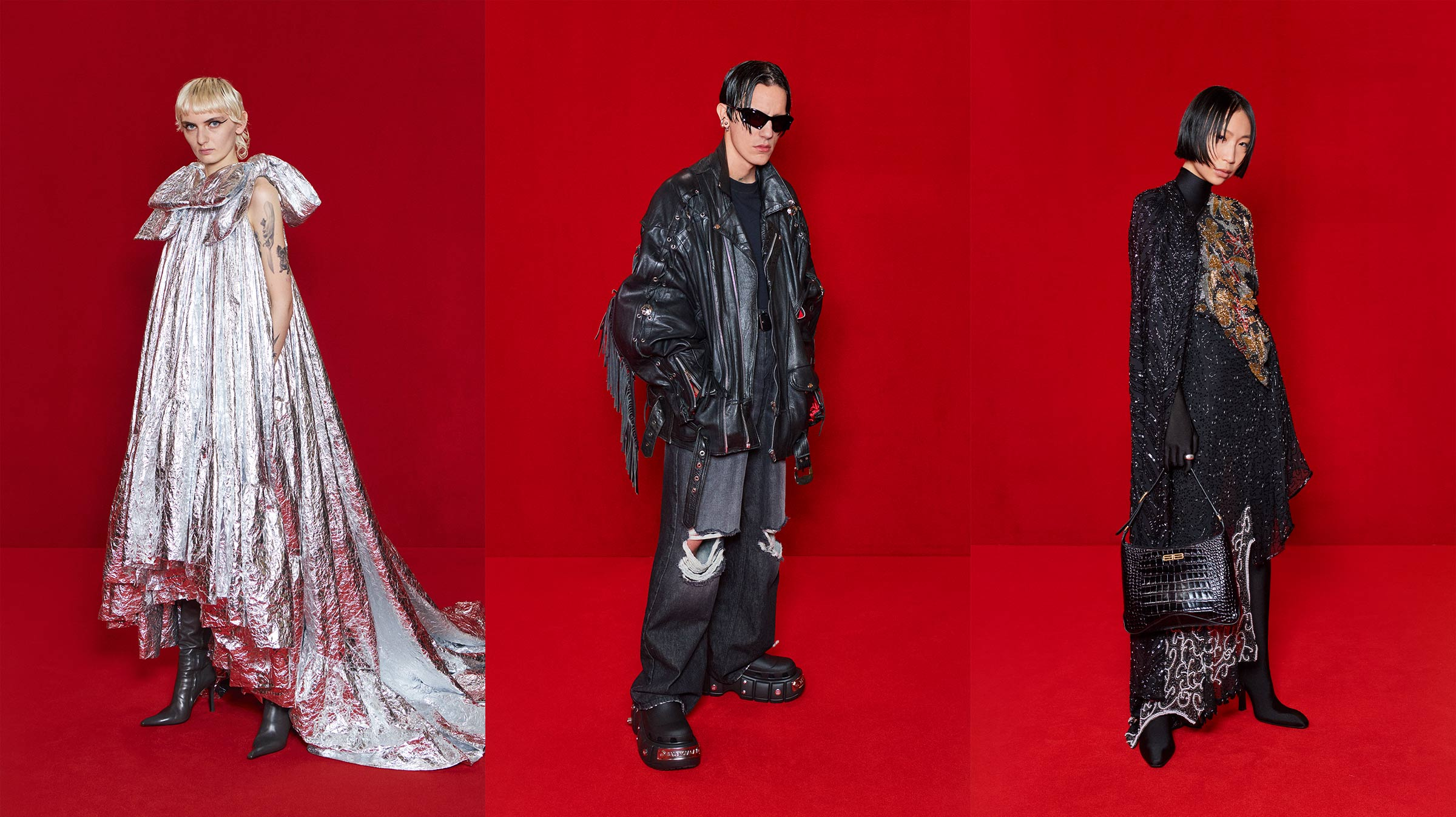 Balenciaga takes to Hollywood, redefining runway