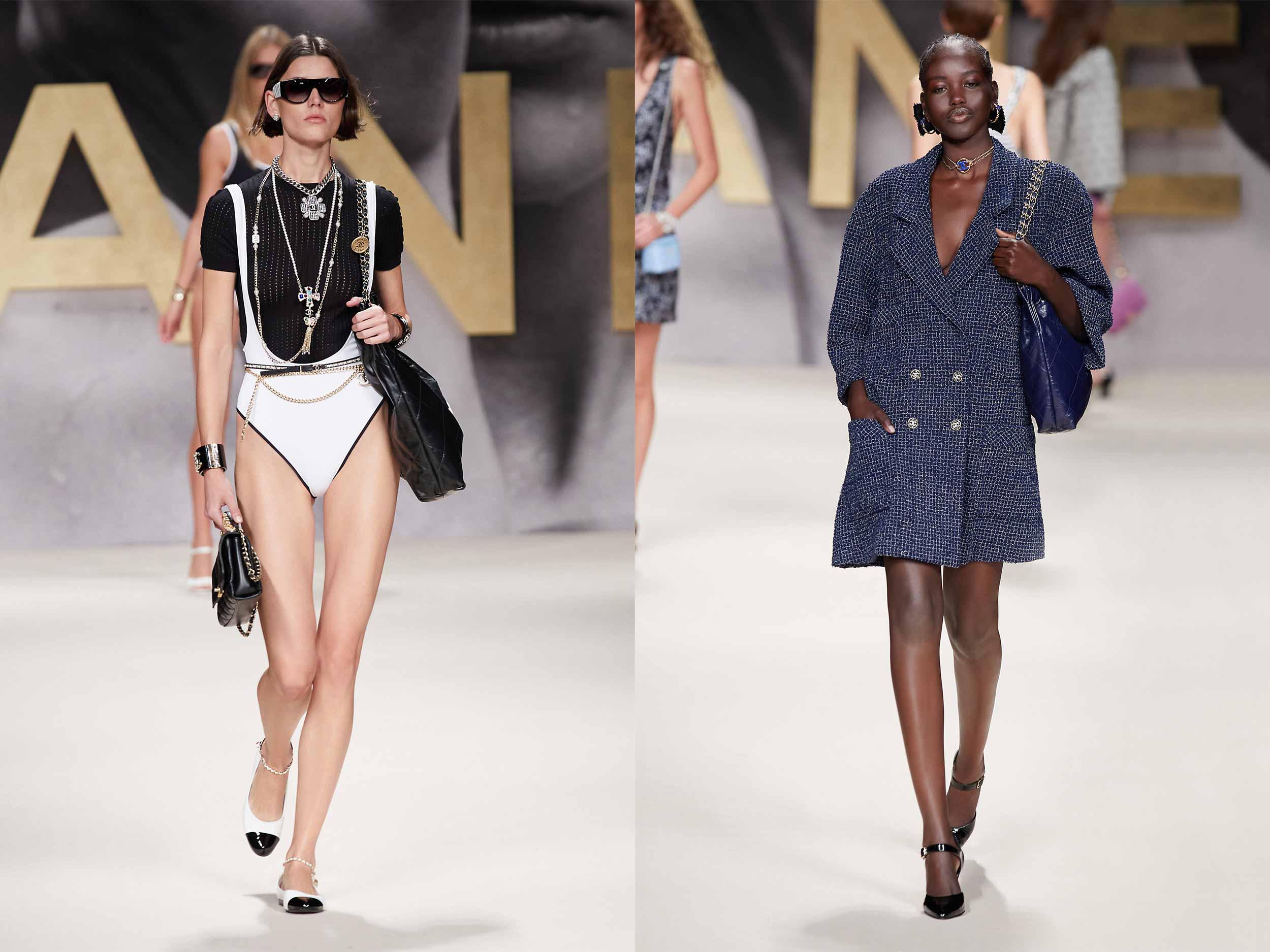 Chanel revives the '80s spirit for Spring/Summer 2022